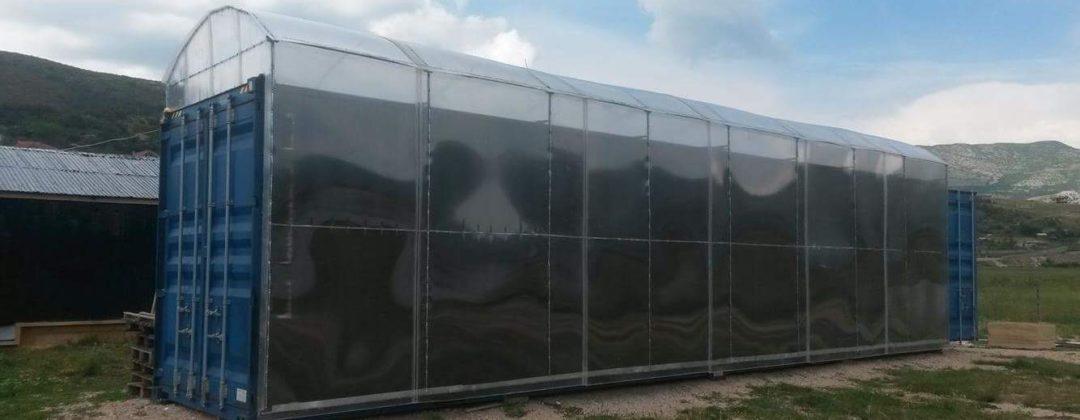 Agro-MAP post-harvest-technology efficient solar dryer, fortschrittliche Nacherntetechnologie